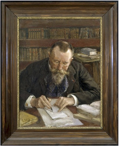 Portret van Hector Treub