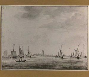 Het uitzeilen van de haringvloot in Vlaardingen