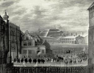Intocht van koningin Marie Louise Gonzaga van Polen in Danzig, 11 februari 1646