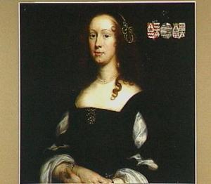 Portret van Anna Reesen-van der Stringe