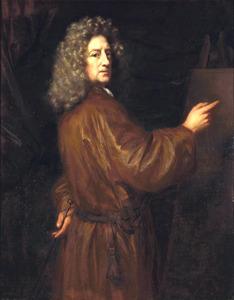Zelfportret van Nicolaes Maes (1634-1693)