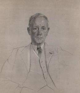 Portret van Christiaan Pieter van Eeghen (1880- )