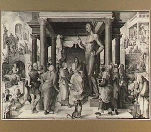 Daniël verklaart de droom van Nebukadnezar en andere voorstellingen uit de geschiedenis van Daniël (Daniël 2:31-45)