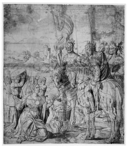 De ontmoeting van David en Abigaïl (1 Samuel 25:33)