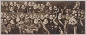 3de peloton schutters van de Kloveniersdoelen, Haarlem 1619