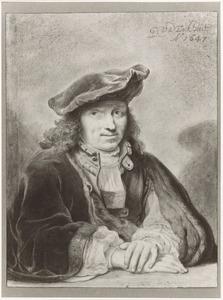 Portret van een man, zogenaamd zelfportret van Gerbrand van den Eeckhout (1621-1674)