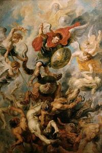 De H. Michael verslaat de opstandige engelen