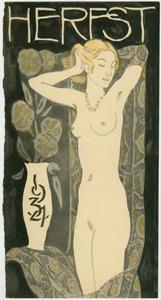 Omslag Herfst-catalogus firma Metz & Co, 1934