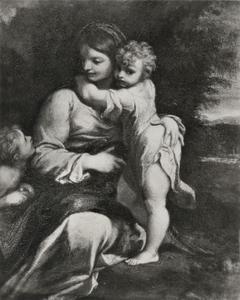 Maria met Christuskind en Johannes de Doper