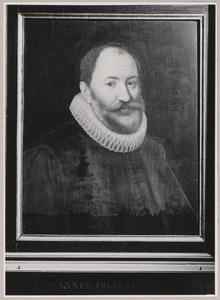 Portret van Johannes Polyander van Kerckhove (1568-1646)