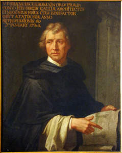 Portret van Franciscus Romanus (1646-1735)