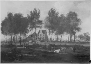 Landschap met een herenboerderij