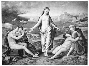 Allegorie van de IJver en de Laksheid