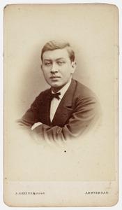Portret van H. Hijmans van Anrooy
