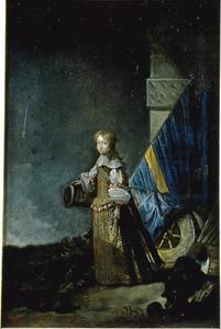 Kinderportret van Koning Karel XI van Zweden (1638-1704)
