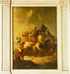 De bekering van Paulus op weg naar Damascus (Handelingen 9:3-5)