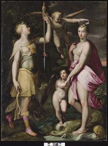 Apotheose van Diana en Venus