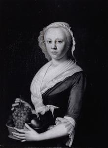 Portret van Iskjen Catharina Bourboom (1724-1785)