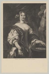 Portret van een vrouw, waarschijnlijk Alida van Berckel (....-....)