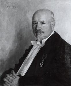Portret van Johan Marcus Baart de la Faille (1867-1952)