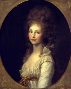 Portrtet van Frederike von Mecklenburg-Strelitz (1778-1841)