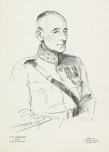 Portret van Floris Abraham Vaillant (1882- )