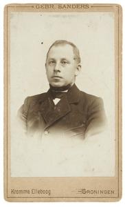 Portret van J. Hellinga