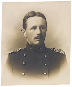 Portret van Hendrik Willem Matthes (1880-1907)