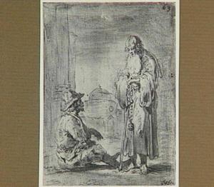 Lazarillo ontmoet een kluizenaar (Lazarillo de Tormes dl. 2, cap. 19, p. 114)