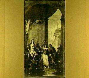 Pallas Athene in de werkplaats van Hephaistos