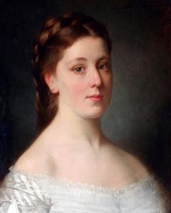 Portret van Ada Wilhelmina van Loon (1858-1939)