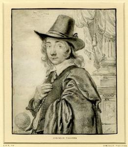 Zelfportret van Cornelis Visscher II (....-1658)