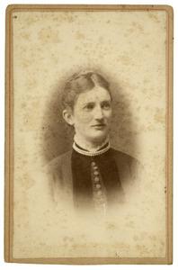 Portret van Elisabeth van der Wissel (1861-1940)
