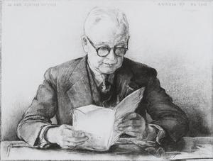 Portret van Jan Teewis Duyvis (1884- )