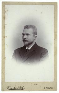 Portret van Johannes Henricus Zaaijer