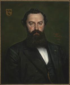 Portret van Arnoldus Anthonie Bredius (1834-1906)
