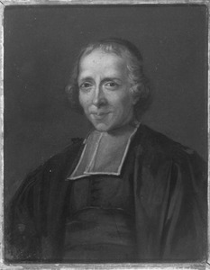 Portret van de theoloog Laurence François Boursier (1679-1749)
