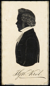 Portret van Johannes Gosuinus Walraven Krol (1826-1897)