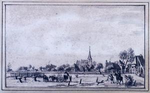 Het dorp Duiven bij Kleef