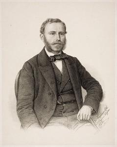 Portret van Frederik Philip van der Hoeven (1832-1904)