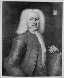 Portret van Karel Koenraad Reitz (1708-1773)