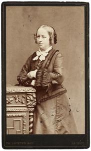 Portret van Johanna Bregje van de Poll (1819-1897)