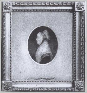 Portret van Gerritje Holthuis (1771-1823)