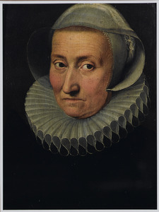 Portret van een oudere vrouw, zogenaamd Maria Pypelinckx, moeder van Peter Paul Rubens (1577-1640), en gehuwd met Jan Rubens