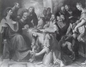 Feestmaal in het huis van Simon de Pharisee