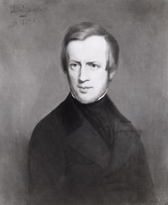 Portret van Johannes Warnardus Bilders (1811-1890)