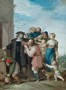 Het laven der dorstigen: een van de zeven werken van barmhartigheid