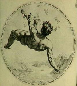 Een van de vier zondaars: Phaeton
