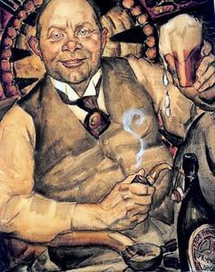 Portret van Piet Boendermaker (1877-1947)
