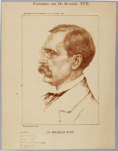 Portret van Wilhelm von Bode (1845-1929)